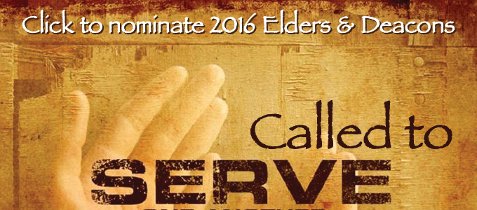 2016 Elders and Deacons banner