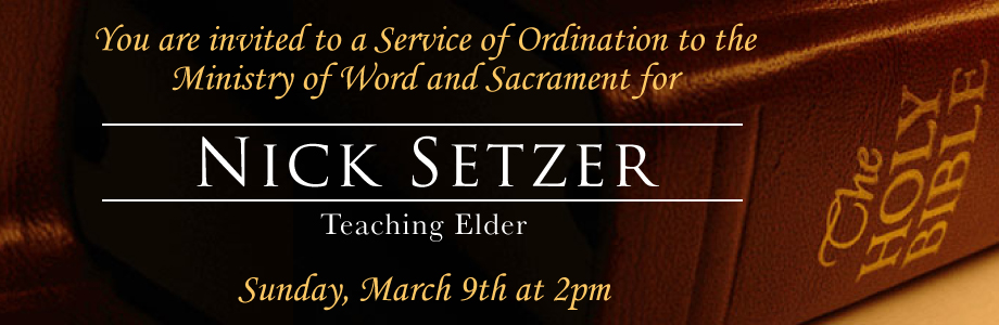 Nick Setzer Ordination Service